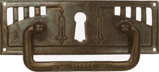 GriffschiId, Mess.mit Schlüsselloch 97x33mm