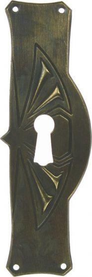 Türschild, Messing 32x100 mm