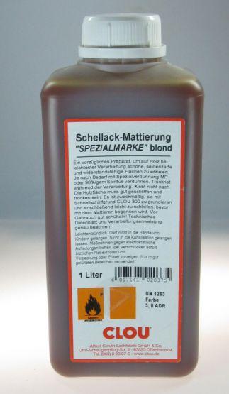 CLOU Schellack-Mattierung blond