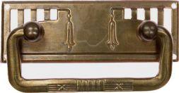 Griffschild, Messing 78 x 27 mm