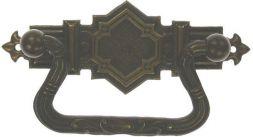 Griffschild, Messing 83x30 mm