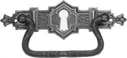 Griffschild Alts.mit Schlüsselloch105x33mm