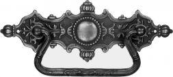 Griffschild, Messing 125x45mm
