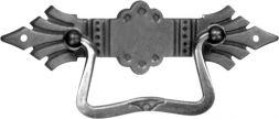 Griffschild, Messing 121x33 mm