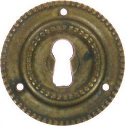 Schild, Messing gegossen 45 mm