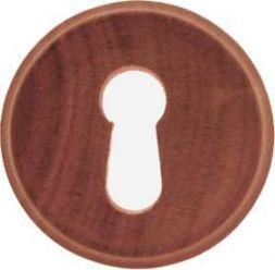Holzschlüsselschild, Mahagoni 34 mm