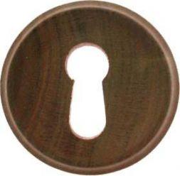 Holzschild zum Einsetzen, Nußbaum 30 mm