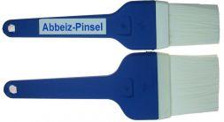 Abbeizpinsel Nylon Borsten, 50 mm, bl.Stiel, Pl.