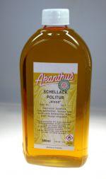 Schellackpolitur  super blond , 500 ml Warentarifnummer 38249092