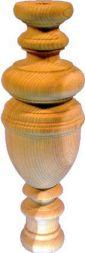 Küchenschranksäulen, ca Ø 90x275 mm,