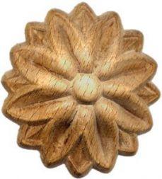 Holz-Rosetten, 60x18 mm