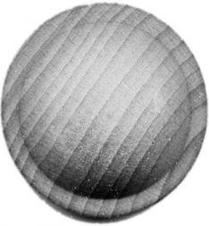 Holz-Rosetten, 35x19 mm