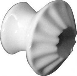 Porzellanknopf, Ø 18 mm