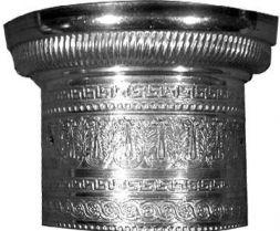 Kapitell für Vollsäulen mess. Ø 38 mm