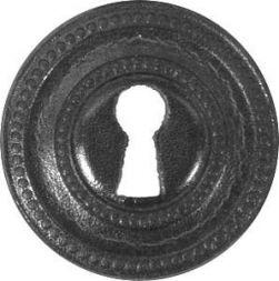 Lederbeschlag rund, 38 mm
