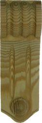 Kieferschnecke, 120 x 42 mm
