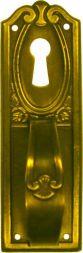 Schild, Mess. 28x90 mm